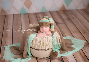 Natural Wood Floor Drop photography backdrop & background