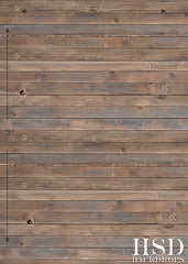 Photography Backdrop Floordrop | Dark Stained Panels