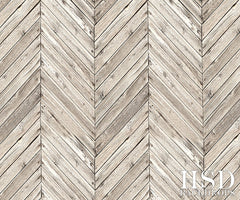 Wood Photography Backdrop Floor | Herringbone