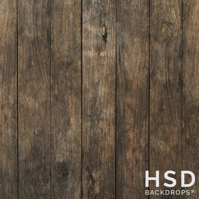 Burke Rustic Wood - HSD Photography Backdrops