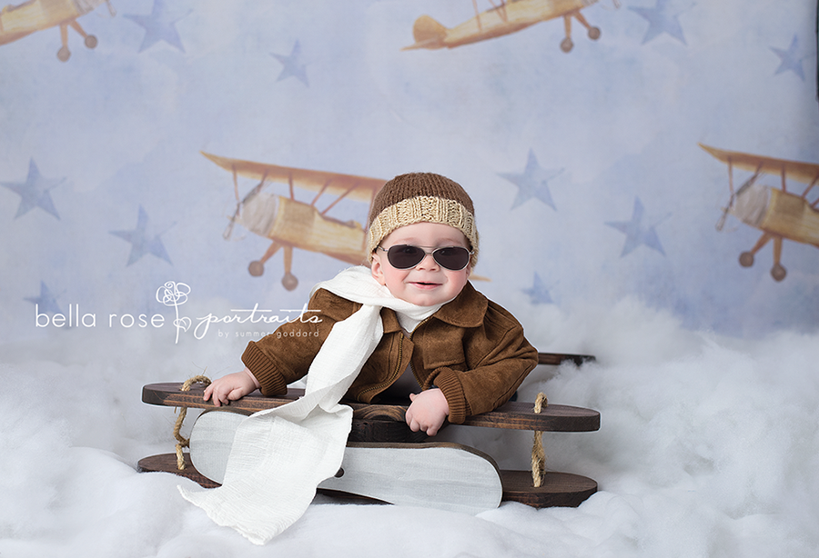 Flying High photography backdrop & background