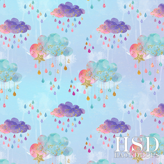 Colorful Clouds - HSD Photography Backdrops
