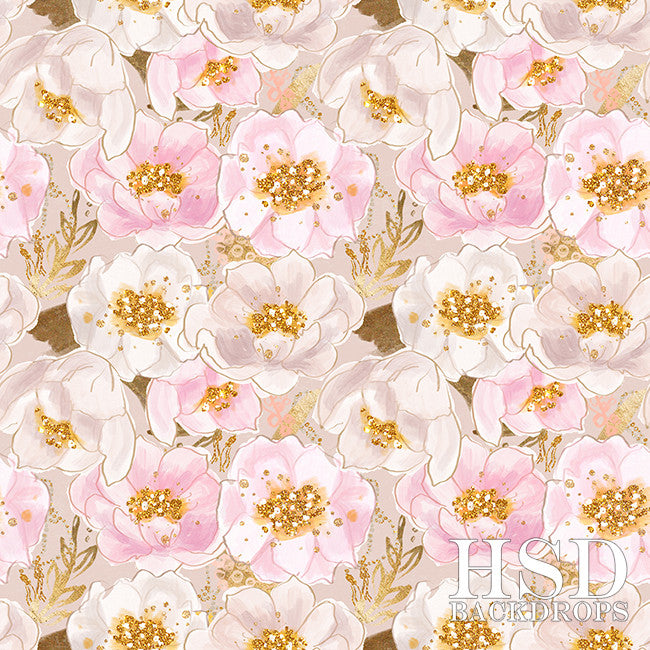 Photography Backdrop Background | Charlotte Floral