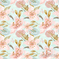 Photography Backdrop Background | Lily Floral