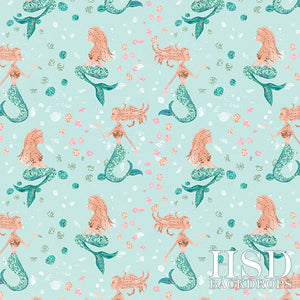Mermaids - HSD Photography Backdrops