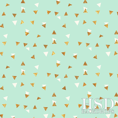 Photography Backdrop Background | Triangle Celebration