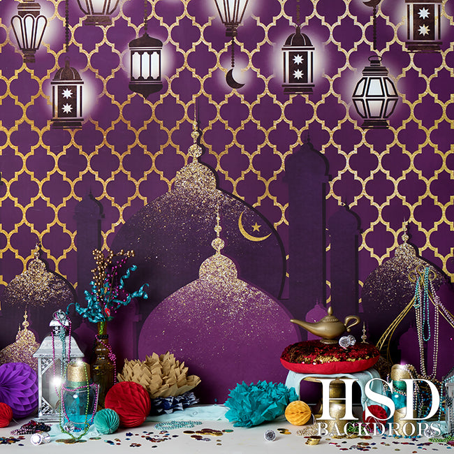 Arabian Nights Set Up photography backdrop & background