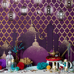 Photography Backdrop | Arabian Nights Set Up