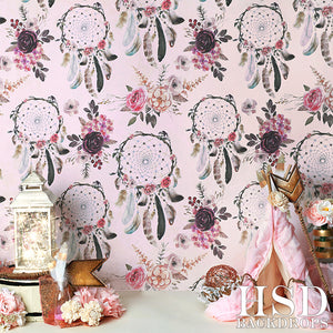 Dream Catcher Set Up photography backdrop & background