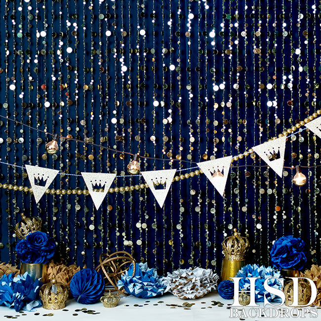 Birthday | Prince Charming photography backdrop & background