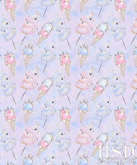 Photography Backdrop Background | Cotton Candy Ice Cream