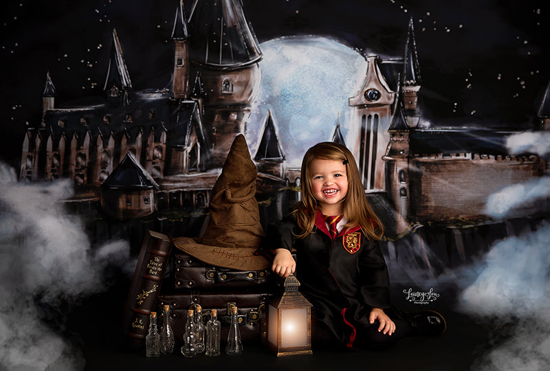 Wizard Castle photography backdrop & background
