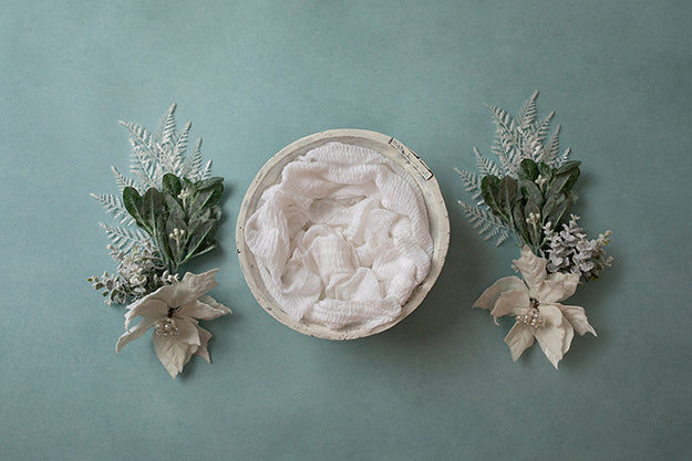 Digital Backdrop | Winter Wonderland Coll. | Winter Floral