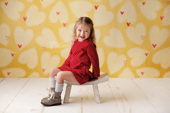 Valentine's Photography Backdrop | Sweetheart