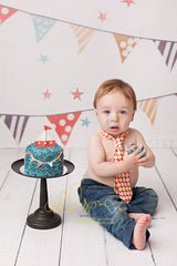 Photography Backdrop Background | Birthday Banners Boy
