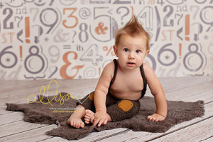 Typography photography backdrop & background