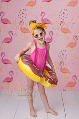 Photography Backdrop Background  | Flamingos