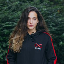Load image into Gallery viewer, Black & Red Hoodie High Quality