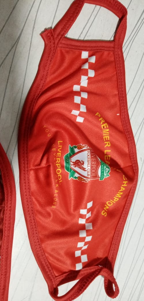 Liverpool FaceMask High Quality
