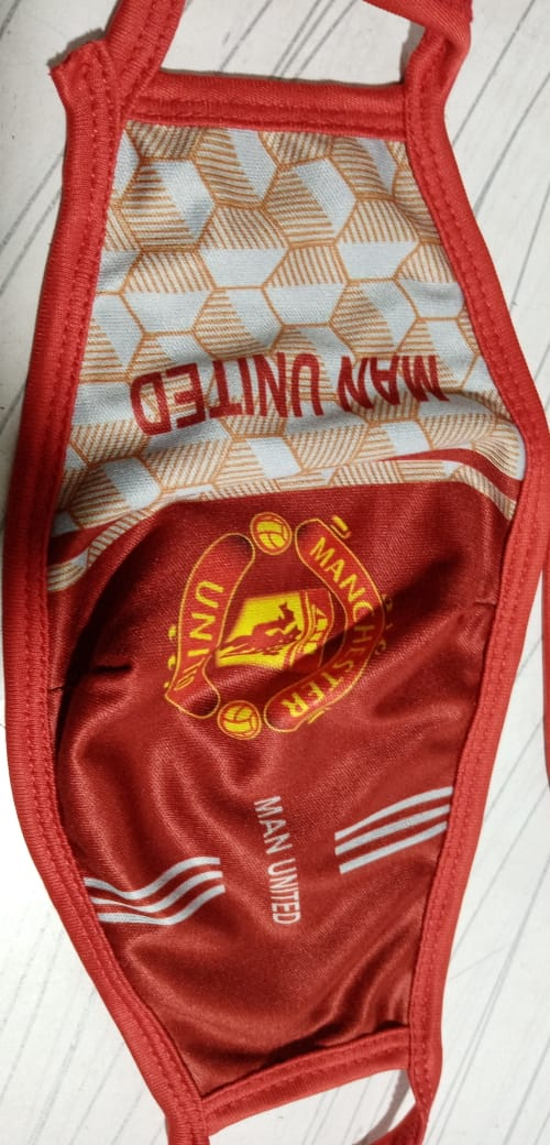 Man United Face Mask High Quality