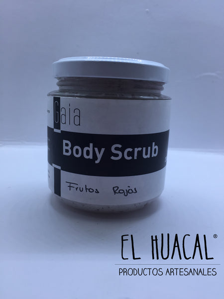Exfoliante Corporal de Frutos Rojos - 200 ml