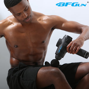 BFGun Stealth - HyperDrive Percussive Therapy Muscle Massager Gun Stimulator