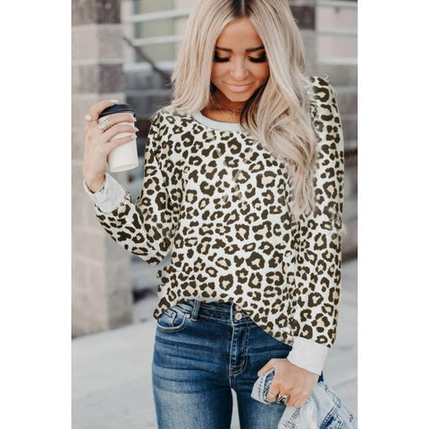 Dark Leopard Long Sleeve