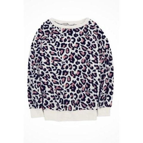 Leopard with Pink Long Sleeve