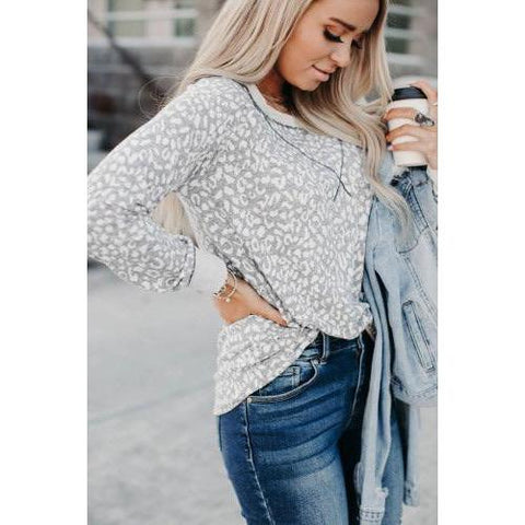 White Leopard Long Sleeve