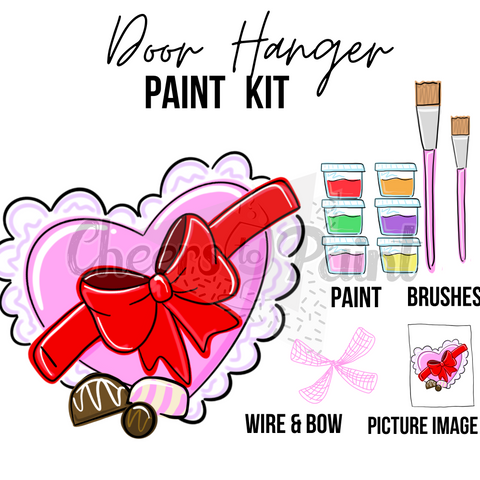 Candy Box- DIY Door Hanger Paint Kit