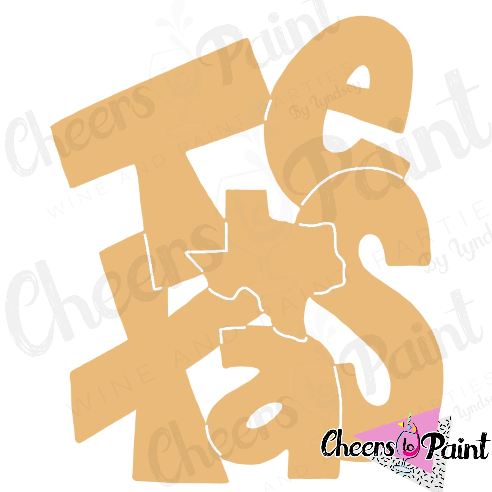 Unfinished- Funky Texas Wood Cutout