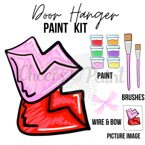 Lips- DIY Door Hanger Paint Kit