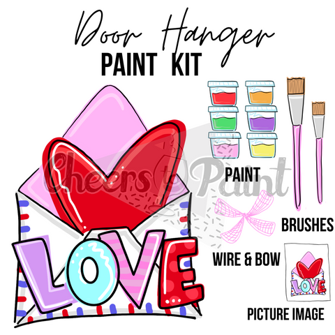 Love Note- DIY Door Hanger Paint Kit