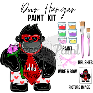 Wild Thang -DIY Door Hanger Paint Kit