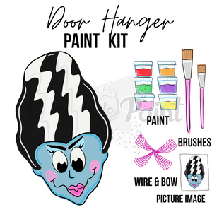 Bride of Frank- DIY Door Hanger Paint Kit