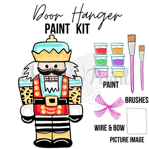 Nutcracker- DIY Door Hanger Paint Kit