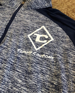 Tommy Coupons Navy/Gray Dri Fit Pullover