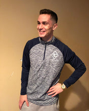 Load image into Gallery viewer, Tommy Coupons Navy/Gray Dri Fit Pullover