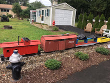Load image into Gallery viewer, Electric Ride-On Backyard Train Set with 450ft of Track