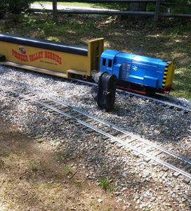 Electric Ride-On Backyard Train Set with 450ft of Track