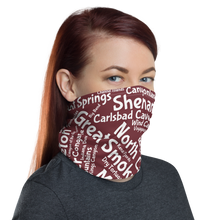 Load image into Gallery viewer, 62 National Park Neck Gaiter - Wine