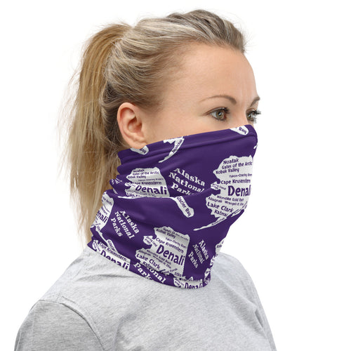 Alaska National Parks Neck Gaiter - Multiple Color Options