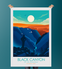 Load image into Gallery viewer, Black Canyon of the Gunnison National Park Print Poster