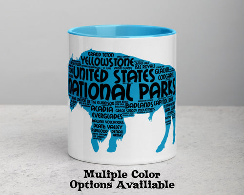 62 National Parks Mug - Multiple Colors Options