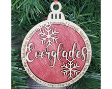 Load image into Gallery viewer, Everglades National Park Round Ornament
