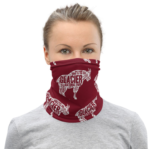Glacier National Park Neck Gaiter - Multiple Color Options
