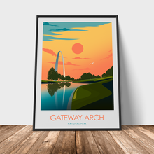 Load image into Gallery viewer, Gateway Arch National Park Print Poster