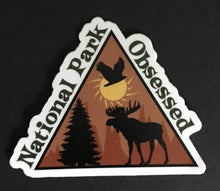 Load image into Gallery viewer, National Park Obsessed Logo Stickers – 3 Pack