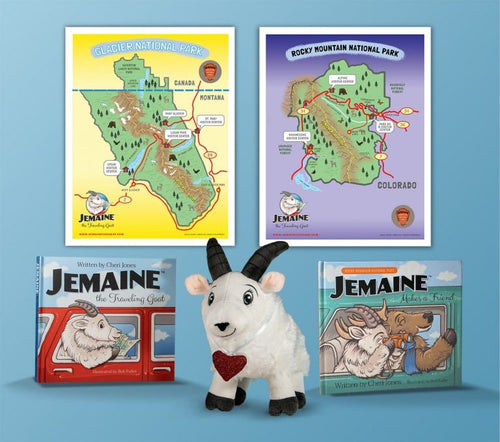 Jemaine, The Travelling Goat Gift Set