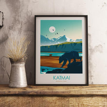 Load image into Gallery viewer, Katmai National Park Print Poster